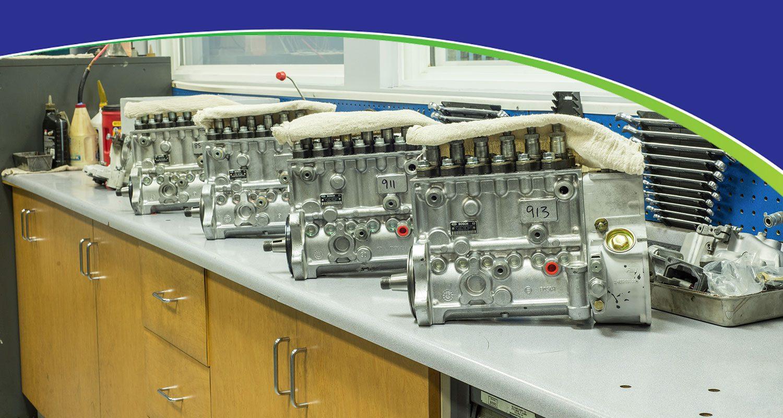 Injector Pump Rebuilding Counter