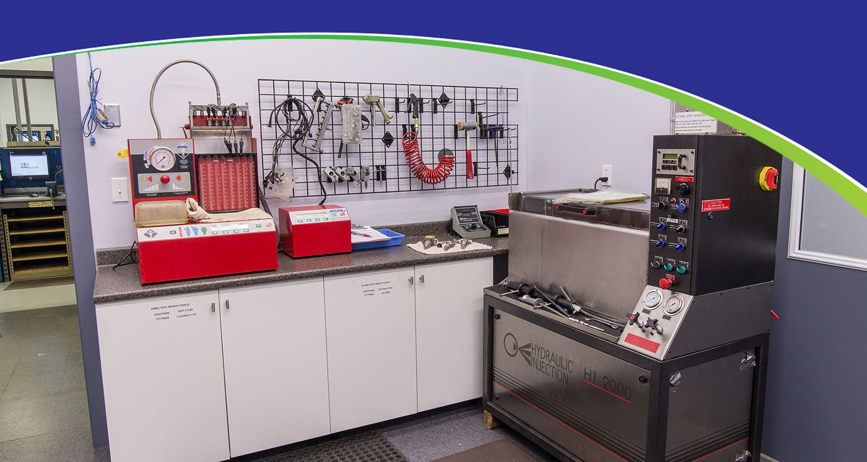 Injector Testing room Surrey