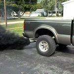 diesel truck exhaust smoke