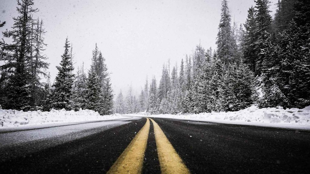 featured icy road for winter diesel article
