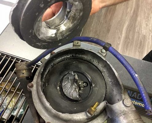 turbocharger failture