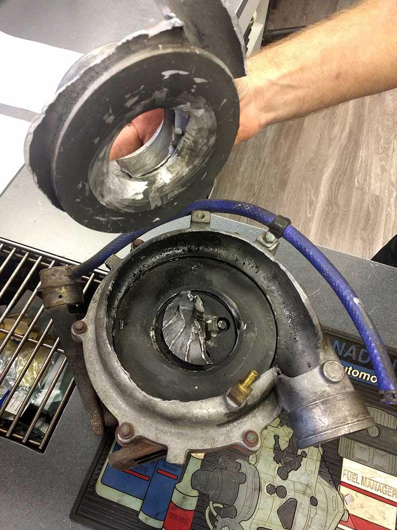 turbocharger failture