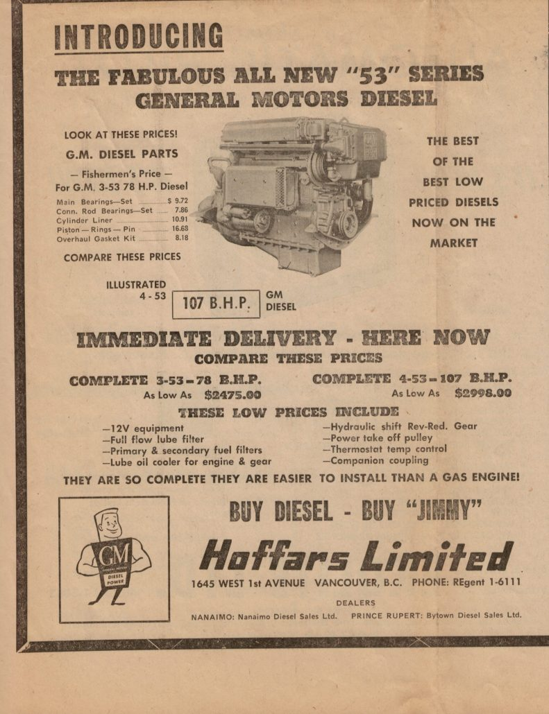 NW Fuel newspaper ad